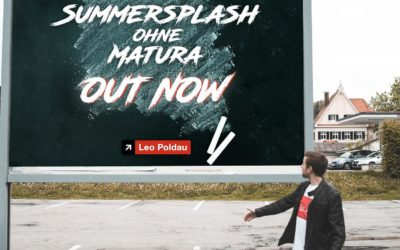 "Leo Poldau bringt erste Single ""Summersplash ohne Matura"""